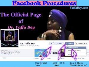 Facebook Procedures