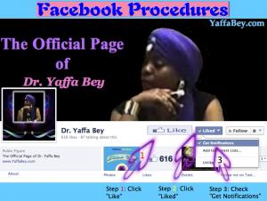 Facebook Procedures