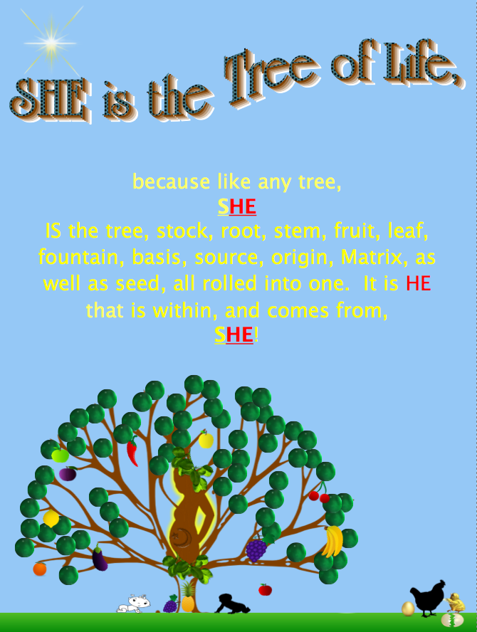 She the IS the Tree