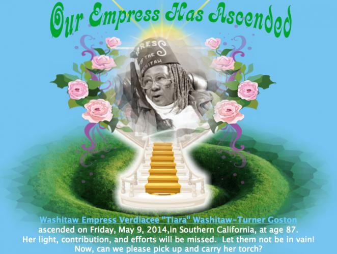 Washitaw Empress Verdiacee Ascended
