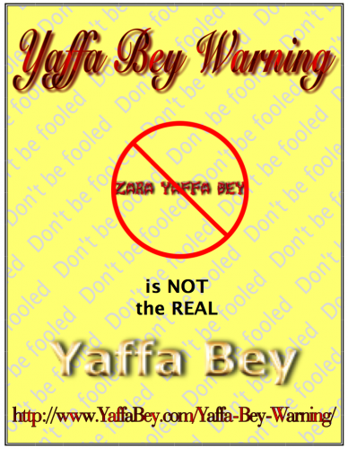 Yaffa Bey Warning